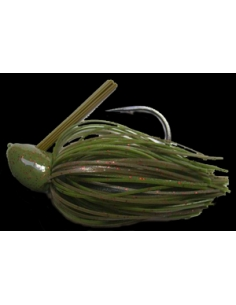 Rattle Bass Jig 3/4oz (21g) color Watermelon Red