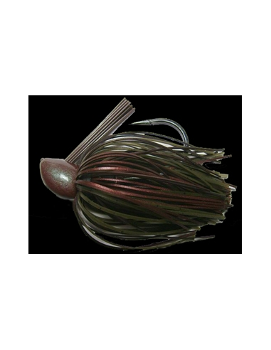 Rattle Bass Jig. 1/2oz (14g) color Coletas Craw