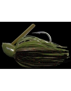 Rattle Bass Jig 3/8oz (10g) color Watermelon Black Red