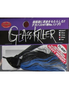 Glass Killer 3/4oz. (21g) color  Black Blue