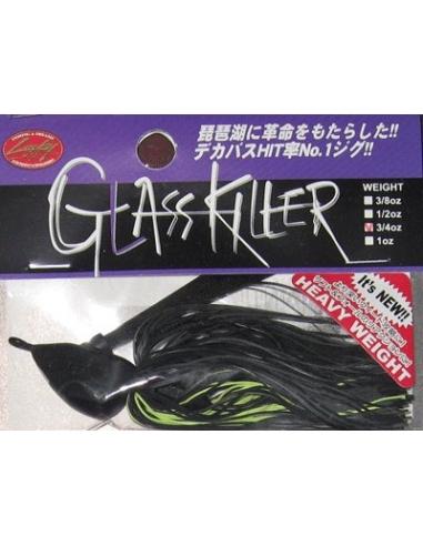 Glass Killer 3/4oz. (21g) color  Black Chartreuse