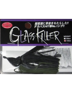 Glass Killer 3/4oz. (21g) color  Black Watermelon