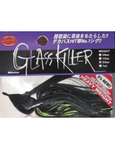 Glass Killer 1oz. (28g) color  Black Chartreuse