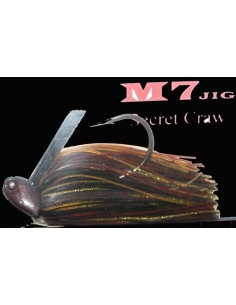 M7. 1/2oz. (14g) color Secret Craw