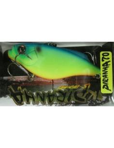 Piranha 70 color Blue Back Chart