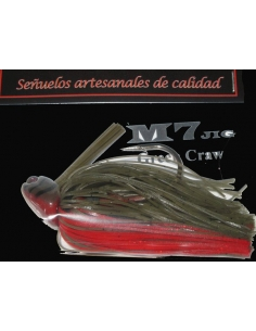 M7 Jig 1/2oz (14g) color Green Craw