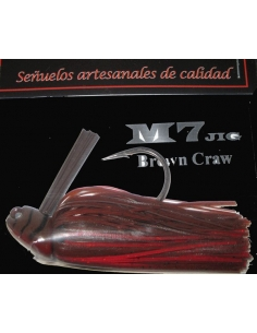M7 Jig 1/2oz (14g) color Brown Craw