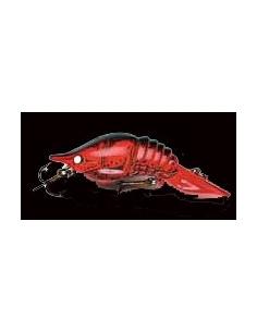 Crawdad 1/4oz (7g) color Fire Red Fluor