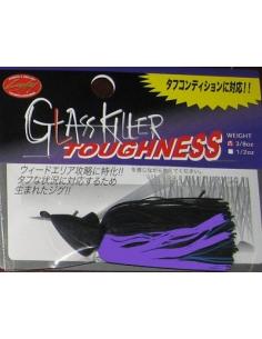 GlassKiller Toughness 3/8oz. (10g) color Black Purple