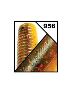 """Nuevo Flappin´Hawg 4""""  color 956 Watermelon Copper/Orange/Red Fl"""