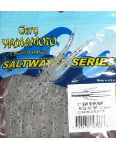 """Shrimp 3"""" color 187 Clear7LG Blk Flk"""