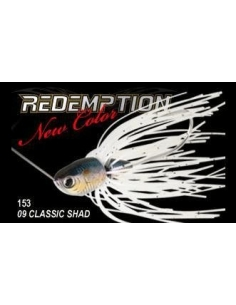 Lucky Craft Redemption 3/8 oz. color Classic Shad