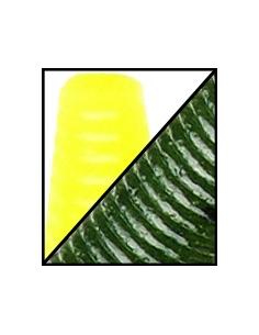 "Senko 5"" color 542 Watermelon Seed/Chart. Tail"