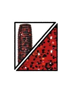 Baby Craw color Special 185 rojo/purpurina plata y negra