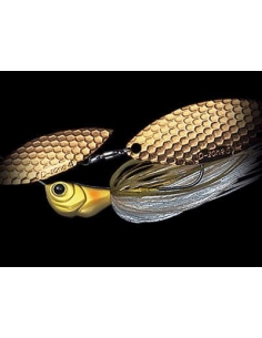 D Zone Xtreme 3/8oz (10g) Tandem Gold color Ayu