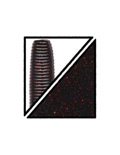 "Flappin´Hog 3 3/4"" color 051 negro/purpurina roja"