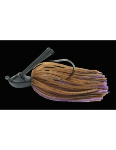 Jig tungsteno Model I 3/8oz. (10g) color 008 Brown Purple