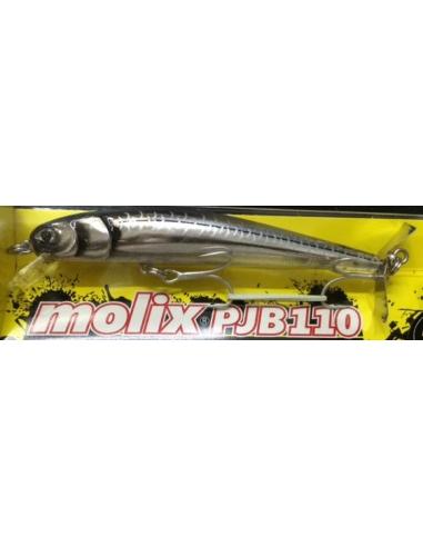 Molix PJB 110 color 121 Ghost Silver Stripe