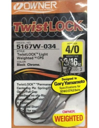 Owner Twist Lock 4/0-3/32oz (2,6g)