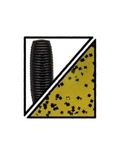 "Shad Shape Worm 3 3/4"" color 194 watermelon/purpurina negra"