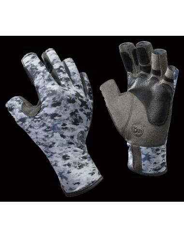 Angler II Gloves Fish Camo talla M/L