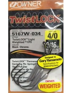 Owner Twist Lock 4/0-3/16oz (5,3g)