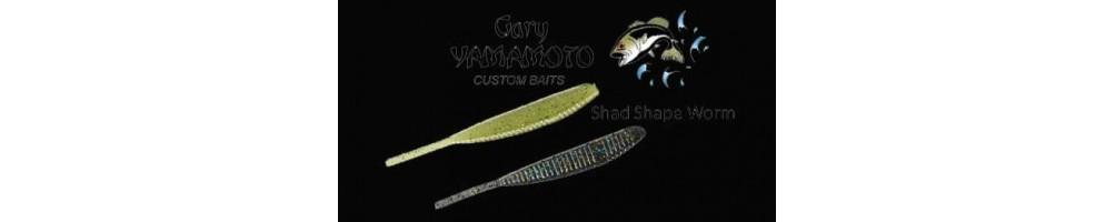 Gary Yamamoto Shad Shape  10pk