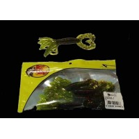 Bass Pro Shop Skirted Double Tail Grub