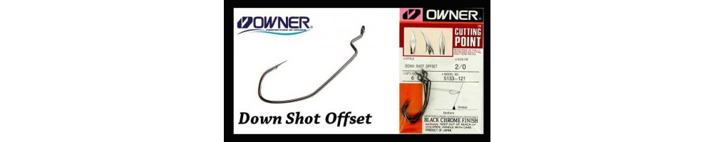 Owner Down Shot, Offset Hook