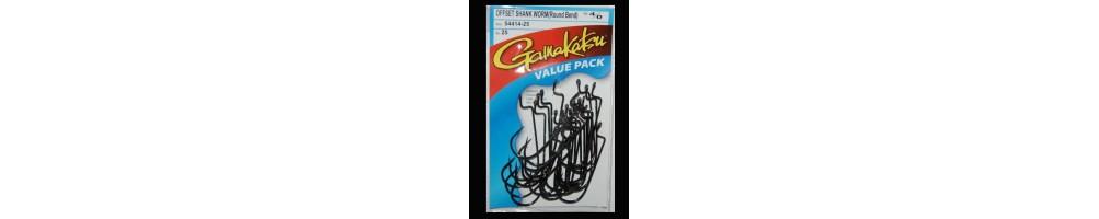 Gamakatsu Worm Hook Round Bend