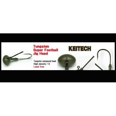 Keitech Tungsten Super Football Jig