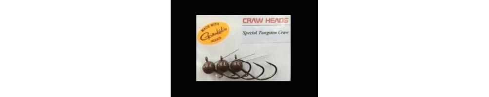 Tungsten Craw Head