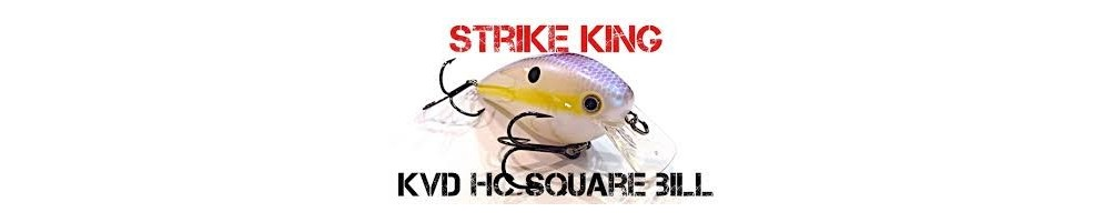Strike King KVD HC Square Bill Silent
