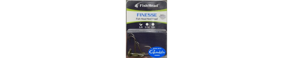 Finesse Fish Head Ned Head