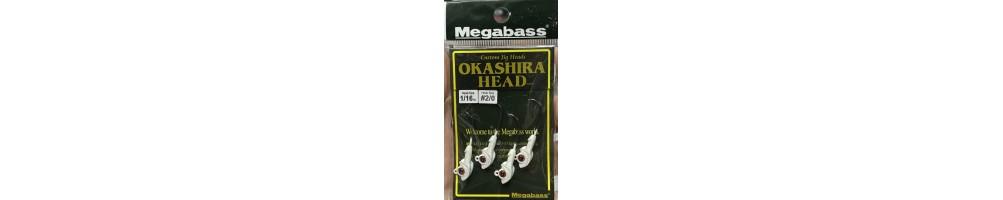 Megabass Okashira Head