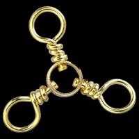 BPS 3-Way Brass Swivel