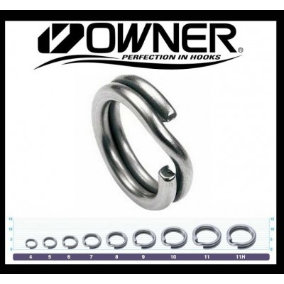 Owner Hyper Wire Split Rings